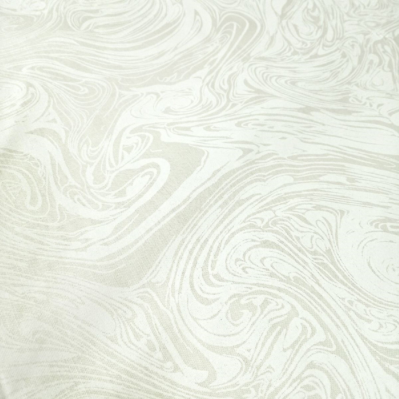Ткань MARBLEICIOUS WHITE ON NATURAL, 108