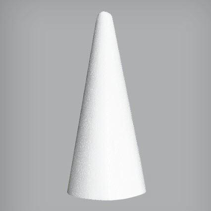 Пенопластовый конус, 9*20 см