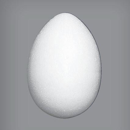 Пенопластовое яйцо, 8*5,5 см