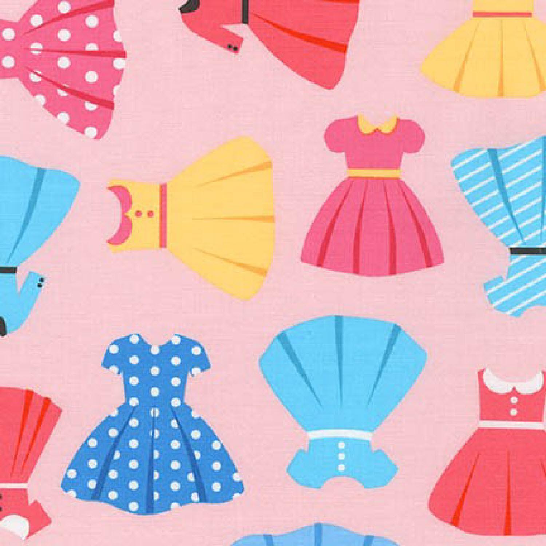 Ткань Girl Friends, PINK