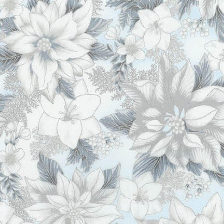 Ткань Holiday Flourish, BLUE