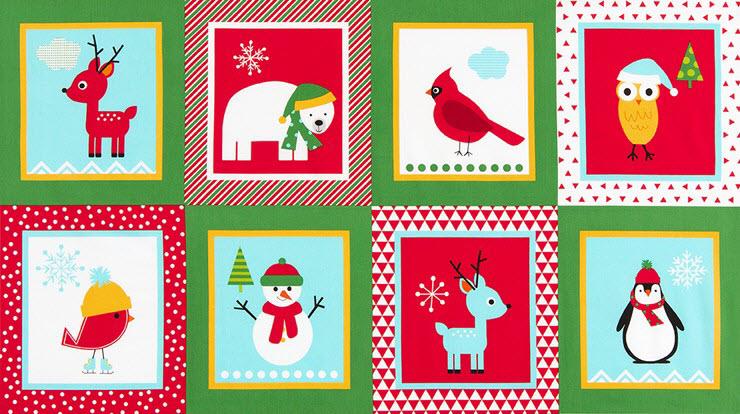 Панель Jingle, HOLIDAY