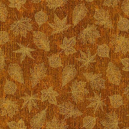 Ткань Shades of The Season, GOLD