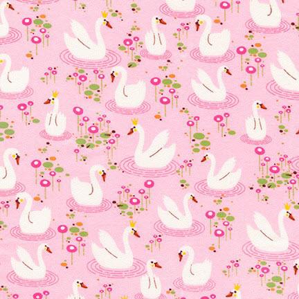 Фланель Swan Princess, SWEET