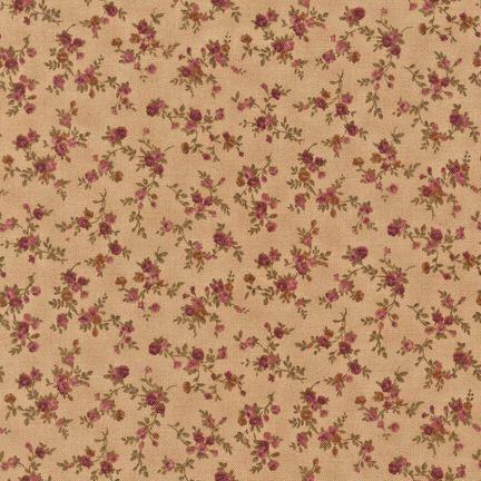 Ткань Tiny Roses, TAUPE