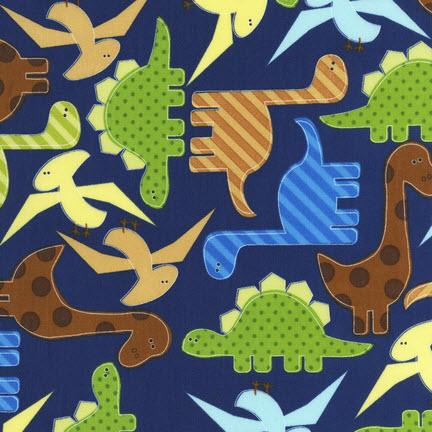 Ткань Urban Zoologie, NAVY