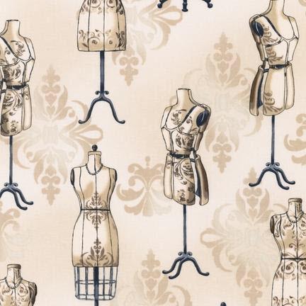 Ткань Vintage Couturier, CREAM