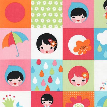 Ткань Whatever the Weather, RAINBOW 2